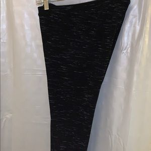 Lauren Conrad leisure pants black grey size M